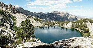 Overland Lake (Nevada) - Image: Overland Lake NV