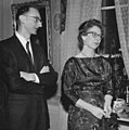 Owen Chamberlain with wife 1959.jpg