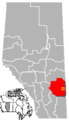 Oyen, Alberta Location.png