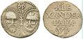 Påven Alexander VI blysigill Petrus Paulus 001.jpg
