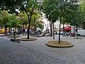 P1050134 Paris XV square carrefour Vaugirard-Convention metro Convention rwk.jpg