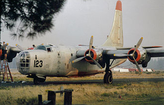2002 United States airtanker crashes - P4Y-2 Tanker 123, at Chester Air Attack Base in the late 1990s