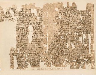 Kahun Gynaecological Papyrus