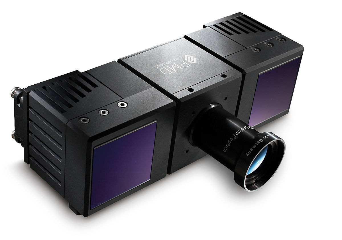 Infrarot Entfernungsmesser Funktionsweise : Tof kamera u2013 wikipedia