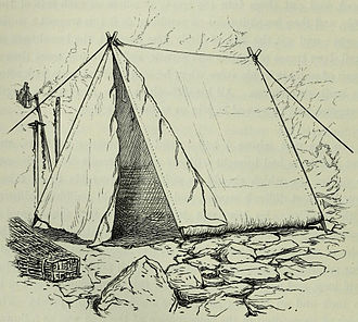 Whymper tent - Whymper's original drawing