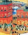 Painting of the water lantern festival in Kiirun 1927.jpg