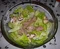 Paléo - Salade de foie de morue (15184283954).jpg