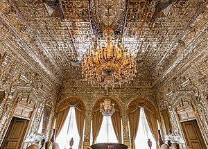 Golestan Palace - Talar e Brelian (Brilliant Hall).