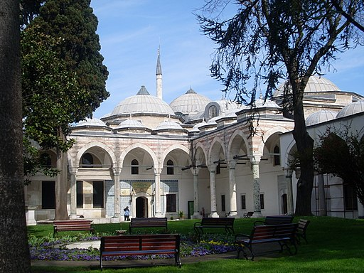 Palacio de Topkapi, jardines, Estambul, Turquía, abril de 2011
