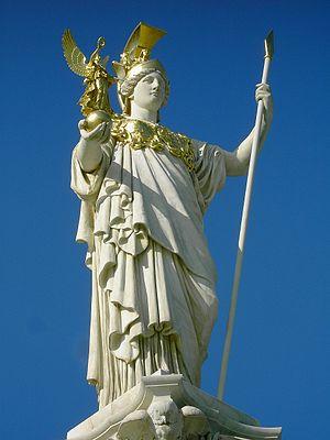 Pallas Athene Statue