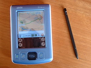 Zire Handheld - PalmOne Zire 31 and stylus