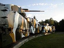 Lo Hurban, un treno armato slovacco della II Guerra mondiale, usato durante la resistenza antinazista del 1944. Oggi è conservato presso Zvolen.