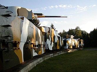 Zvolen - Image: Pancierovy vlak Zvolen