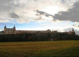 Lerma, Province of Burgos - View of Lerma, 2006