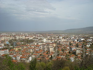 Montana, Bulgaria - Panoramic view of Montana