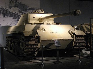 Panther II tank proposed German medium tank