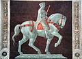 Paolo uccello, Monumento equestre di John Hawkwood, 1436, 02.JPG