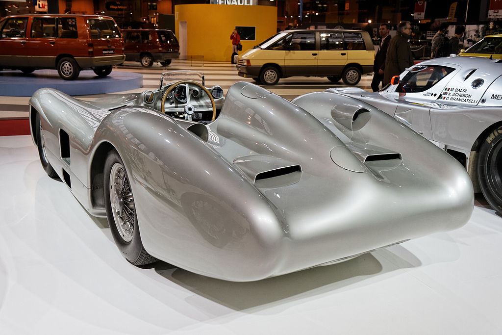 Paris - Retromobile 2014 - Mercedes-Benz W 196 R Stromlinie- 1954 - 005