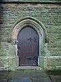 Parish Church of St James, Altham, Doorway - geograph.org.uk - 660509.jpg