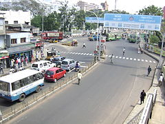 Traffic Signal at Poonamallee High Road, Park Town, Chennai