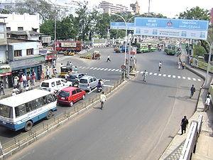 Park Town, Chennai - Image: Park Town signal