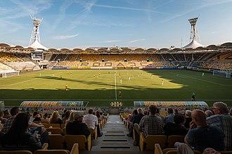 Parkstad Limburg Stadion - Image: Parkstad Limburg Stadion, augustus 2016