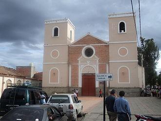 San Lorenzo, Tarija - Church of San Lorenzo