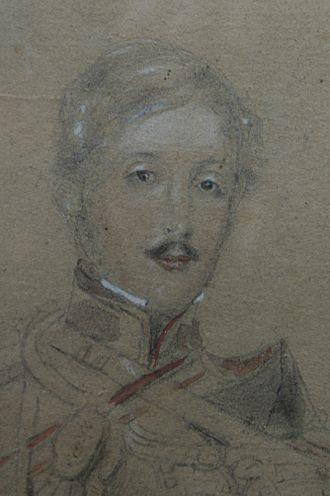 Rodolphus de Salis - Image: Part of a sketch by David Wilkie of Rodolph J. H. L. De Salis, (1811 1880)