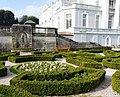 Parterre and flowers, Oldway Mansion, Paignton - geograph.org.uk - 699392.jpg