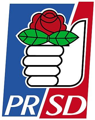 New Majority (Chile) - Image: Partido Radical Socialdemócrata logo
