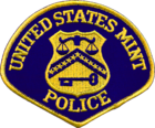 Patch of the U.S. Mint Police