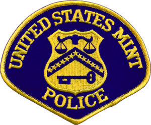 United States Mint Police - Image: Patch of the United States Mint Police