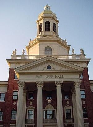 Pat Morris Neff - Pat Neff Hall at Baylor University