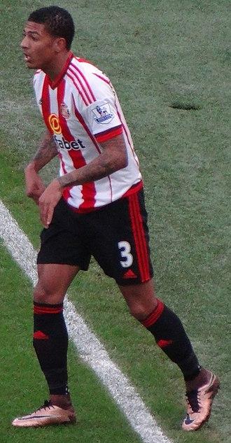 Patrick van Aanholt - Van Aanholt playing for Sunderland in 2015.
