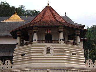 Temple of the Tooth - Paththirippuwa at Sri Dalada Maligawa Kandy Sri Lanka