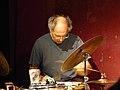 Paul Lytton (beim Peter Kowald-Konzert 120921 Stadtgarten) P1040787.jpg