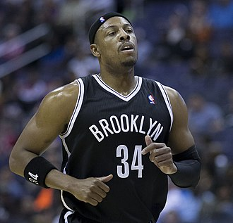 2013–14 Brooklyn Nets season - Paul Pierce was traded to the Nets on July 12, 2013.