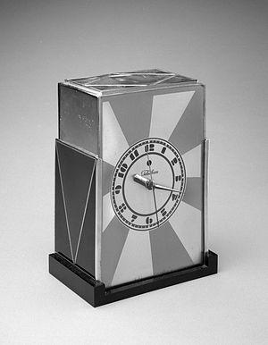 Paul T. Frankl - Paul T. Frankl. Clock, late 1920s Brooklyn Museum