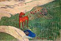 Paul gauguin, mietitura, le pouldu, 1890 ca. (tate) 02 cane.jpg