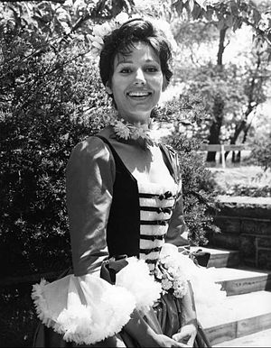 Paula Prentiss - Prentiss in As You Like It, 1963