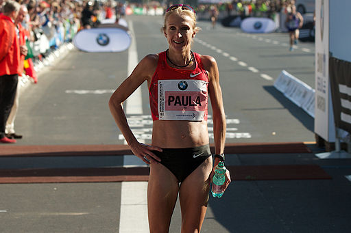 Paula Radcliffe in Berlin