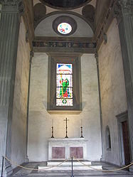 Pazzi Chapel altar.jpg