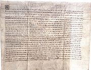 Peace agreement between Gediminas and Order