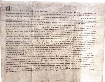 Peace agreement between Gediminas and the Teutonic Order Peace agreement between Gediminas and Order.jpg