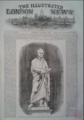 Peel Statue by John Gibson, The Illustrated London News. 1 October 1853.png