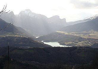 Ambel, Isère - Ambel, next to the Souloise.