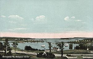 Bristol, Maine - Image: Pemaquid Harbor, Pemaquid, ME