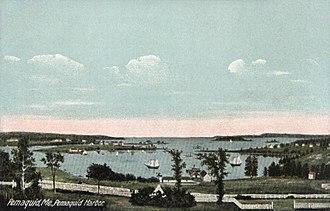 Bristol, Maine - Image: Pemaquid Harbor, Pemaquid, ME