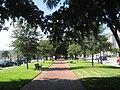 PensacolaPalafoxAug2008ParkBenches.jpg