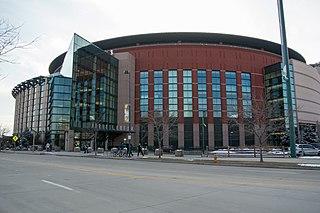 Ball Arena Multi-purpose arena architectural structure